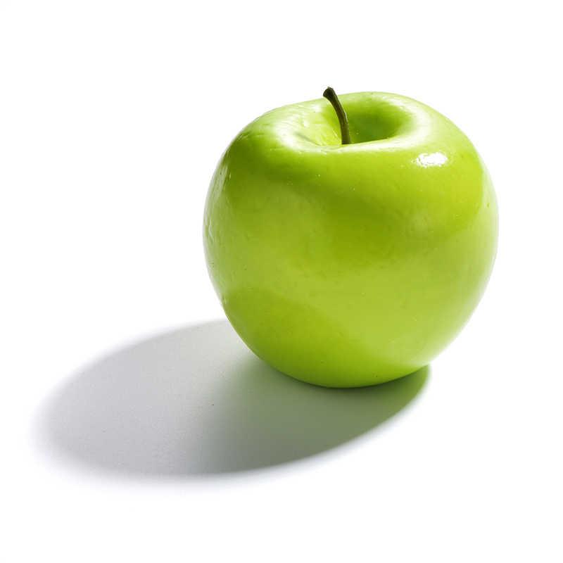 Simulasi Campuran Buah Dekoratif Buatan Apple Pear Orange Palsu Anak-anak Kognitif Mengajar AIDS Buah Plastik EVA Display Toko