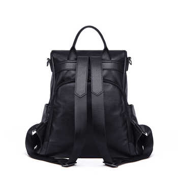 2020 new ZOOLER Brand leather bags women genuine leather backpack school large capacity woman travel bags bolso mujer #YC209