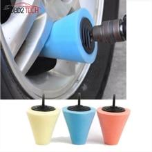 Koło automatyczne gąbka do mycia używany konserwacji do wiertarki elektrycznej 4 cal nagniatania Ball do polerowania stożek piasty samochodu gąbka do polerowania