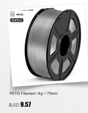 3d принтеры нити pla плюс + 1 кг 175 мм точность погрешность