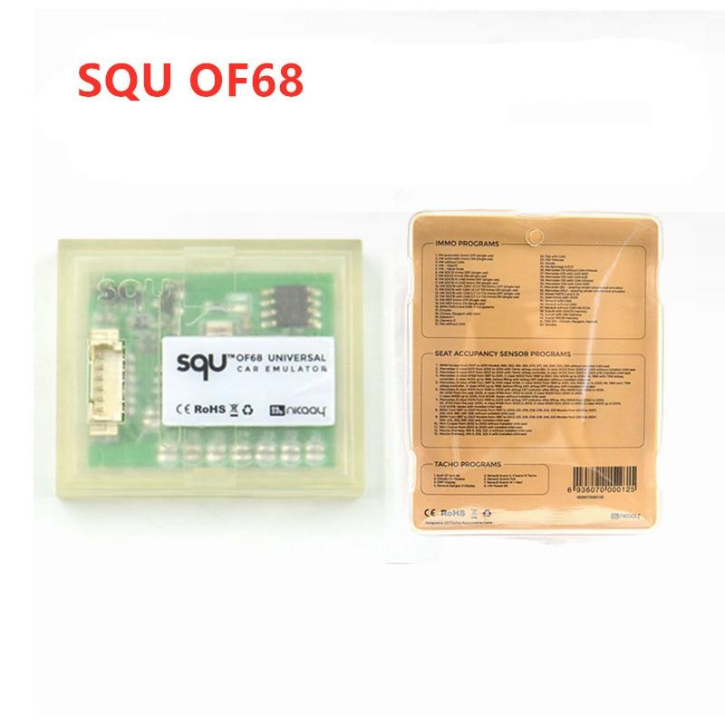 50pcs/lot SQU OF68 Universal Car Emulator Place ESL Diagnostic Seat Occupancy Sensor Tool Immo Off Tacho Programs For Benz