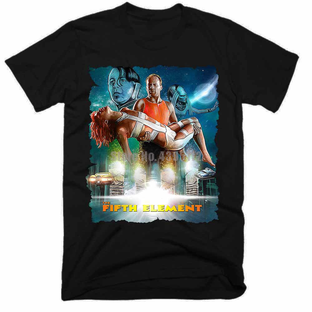 The Fifth Element Movie Man'S Clothes Shirts Gay T-Shirts Gothic Shirt Gym Shirts For Fitness Pnvpcg image