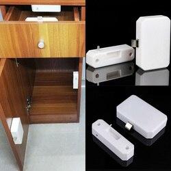 Niewidoczna skrzynka na listy praktyczna szafa bezpieczeństwa czujnik biurowy inteligentny zamek do szuflady trwały domowy elektroniczny plik szafy na