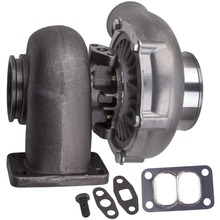 T70 Universal Turbocharger .70 A/R T3 V Band Flange 600+HP Oil Cooled Turbo Turbine For 1.8L 3.0L engine