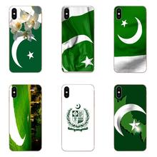 Pakistan National Flag Coque Shell Transparent Shell Phone Case For Xiaomi Redmi Note 2 3 3S 4 4A 4X 5 5A 6 6A Pro Plus