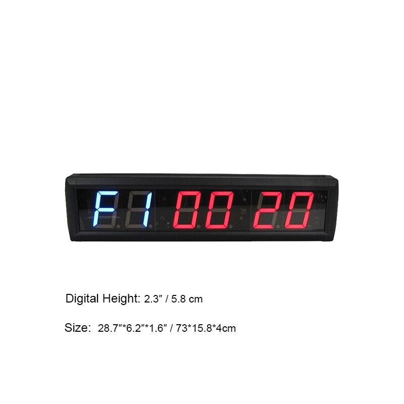 Hot selling ginásio exercício de fitness workout gym temporizador cronômetro relógio digital LED relógios - 5