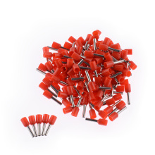 100pcs E1508 Electrical Terminals Tubular Insulated Cord End Cable Wire Connectors