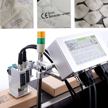 Small Logo Printer Color inkjet Printer Intelligent Printing Touch Screen  date/Batch code/ Serial number/Label/Barcode /Qr code portable hand jet handheld touch inkjet printer for logo expiry date batch code serial number label barcode qr code