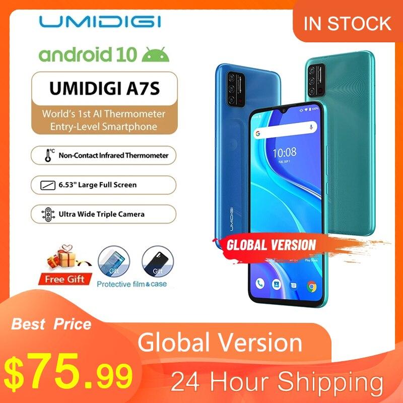 UMIDIGI A7S глобальная версия смартфона 6,53