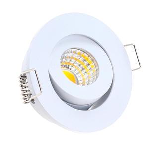 Image 3 - IP65 MINI wpuszczane LED wodoodporna lampa ze ściemniaczem na zewnątrz 3W AC90 260V/DC12V oświetlenie sufitowe LED punktowe lampy sufitowe LED