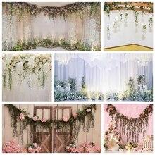 Yeele Bloemen Gordijn Bruiloft Photocall Party Deco Fotografie Achtergronden Aangepaste Fotografische Achtergronden Voor Foto Studio