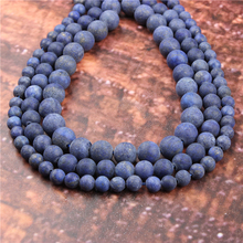 Wholesale Fashion Jewelry Matte Turquoise 4/6/8/10 / 12mm Suitable For Making Jewelry DIY Bracelet Necklace