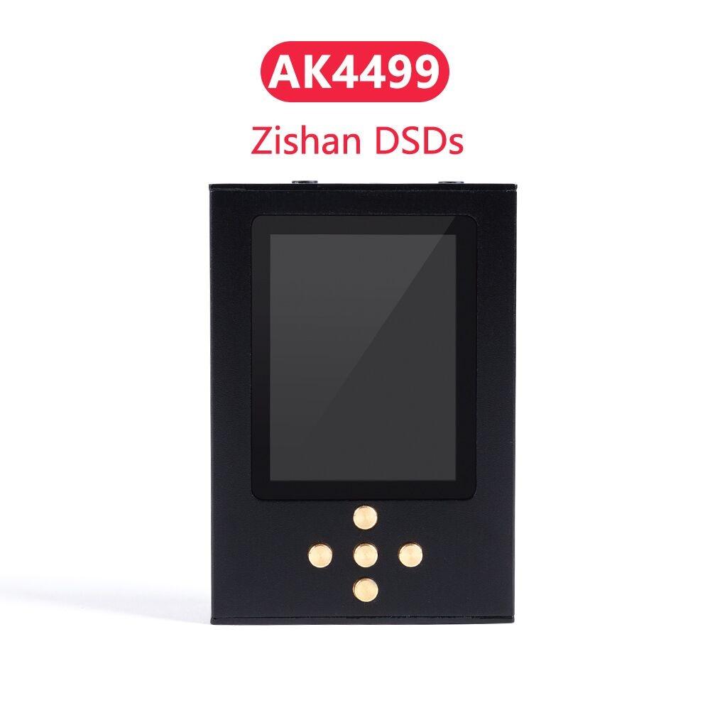 New Zishan DSDs  AK4499 Professional Music Player MP3 DAP AD8620 MUSES02 HIFI Portable Player 2.5mm Balanced AK4499EQ 4499
