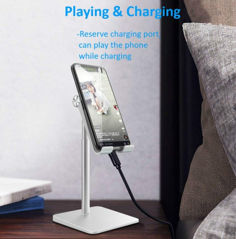 Suporte de mesa tablet suporte do telefone mesa sfor ipad pro 11 10.5 9.7 mini para samsung xiaomi suporte remoto ensino rede 4