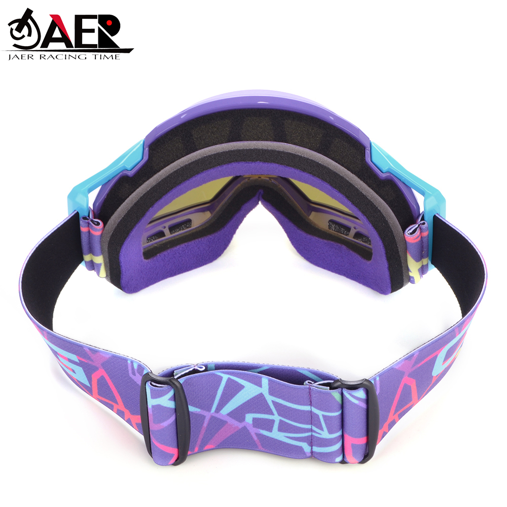 lowest price JAER 100percent Brand Motocross Goggles For Moto Helmet ATV DH MTB Dirt Bike Glasses Racing Cycling Oculos Gafas Motorcycle Glasses