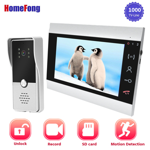 Homefong7 Inch Video Door Phon