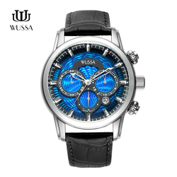WUSSA multifunctional fashionable quartz watch for men