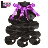 Peruvian Hair Weave 3 Bundles Body Wave Human Hair Bundles Non Remy Hair Extensions