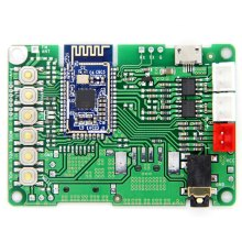 Bluetooth 5.0 Transmitter Receiver Module BK3266 o Stereo Amplifier Board AUX o Input DC 3.6 -5V(China)