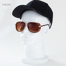 CHUZICI Iron Man Donnie Sunglasses Personality Retro Fashion Men and Women Metal Frame Beam Eyewear