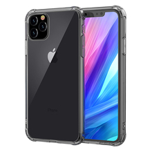Fashion Shockproof Bumper Transparent Silicone Phone Case For iPhone 11 X  XR XS Max 8 7 6 6S Plus 2019 Clear protection Cover