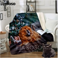 Sofa Bedding patterned Office Chow Chow Harajuku doge dog girl boy stuffed blanket bedspread baby travel blanket sofa quilt A27