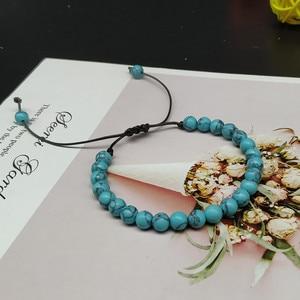 Image 5 - 6mm New Natural Beads Bracelets Men Black Ethinc Meditation White Bracelet Women Prayer Jewelry Yoga Bracelet Homme
