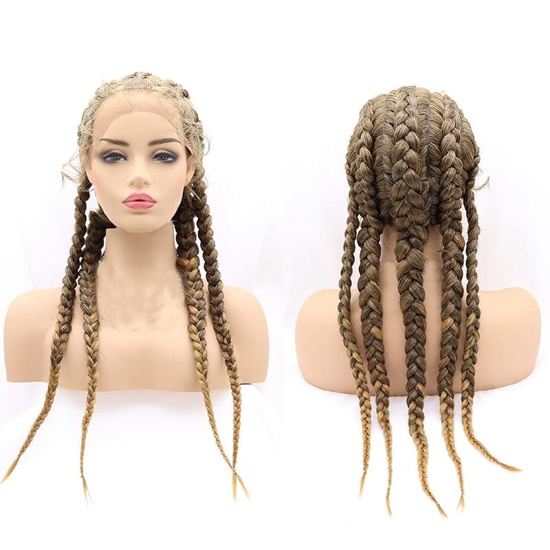 Box Braided Wig 4