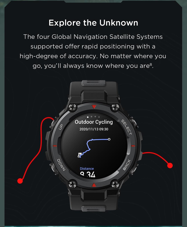 Amazfit T-Rex Pro Smartwatch 9