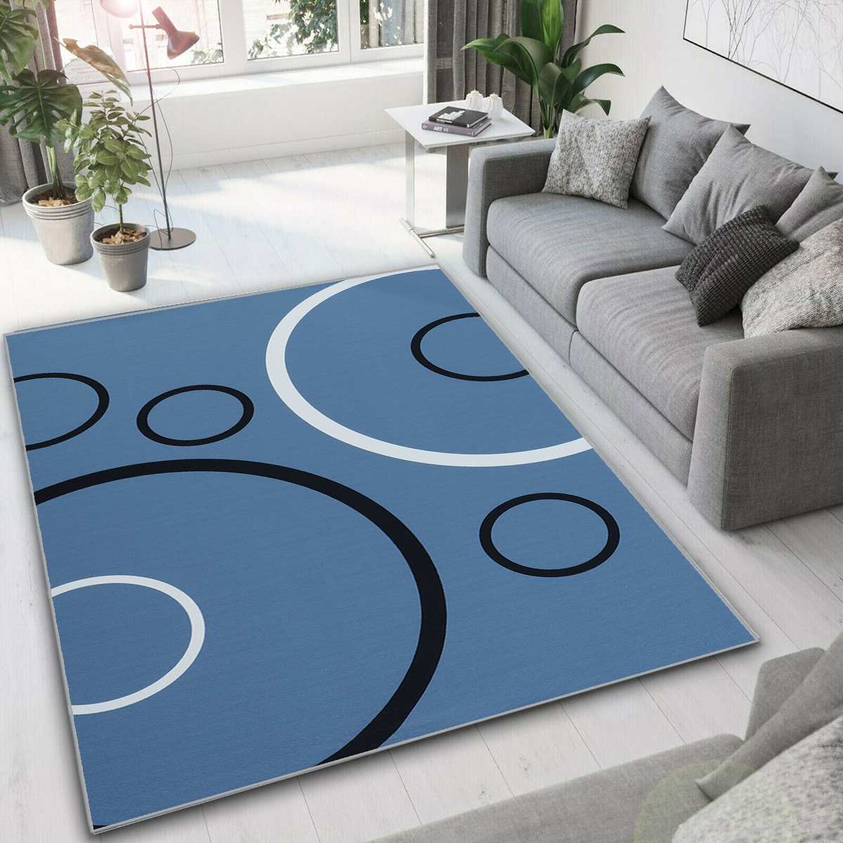 Nouveau abstrait moderne tapis nordique tapis chambre chevet couverture zone tapis doux étude chambre tapis sol pour salon maison