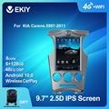 EKIY DSP 4G LTE Android 10 Автомагнитола для KIA Carens 2007-2011 мультимедийный Tesla вертикальный экран Навигация BT GPS 2 DIN без DVD ПК