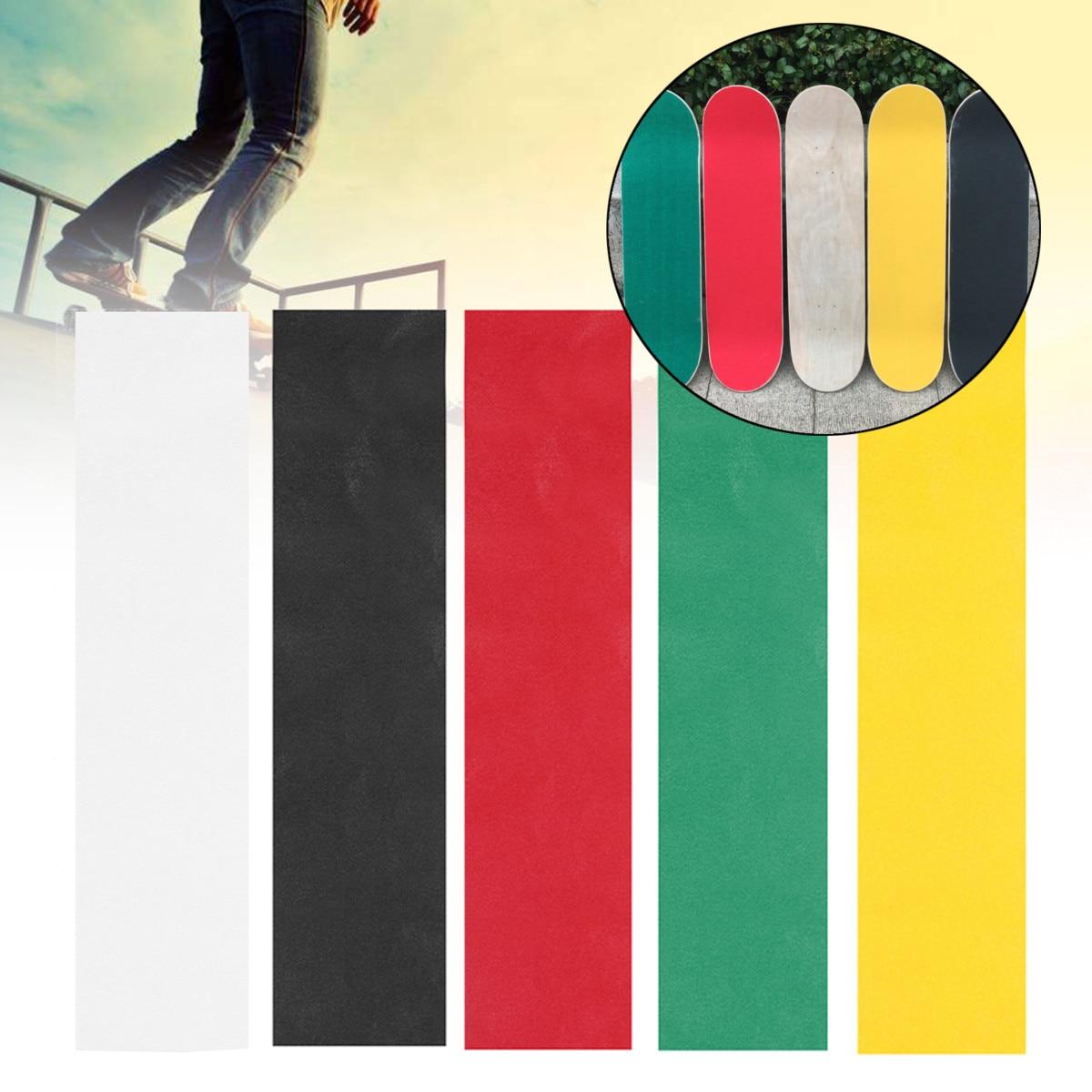 Colorful Skateboard Deck Sandpaper Grip Tape Griptape Skating Board Sticker