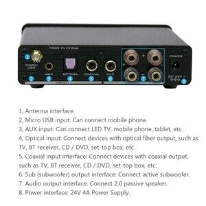 Image 4 - Fx Audio D502Bt Pure Digital Amplifier Bluetooth 5.0 Aux USB Optical Coaxial Hifi 60W Decoding Sub Speaker R/L Amp