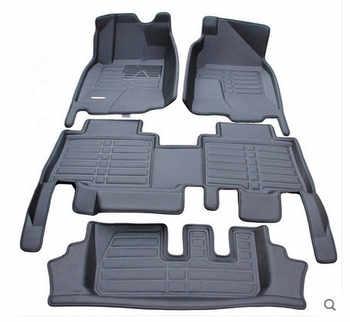 High quality! Custom car floor mats for Toyota Land Cruiser Prado 150 7 seats 2020-2010 waterproof car carpets for Prado 2019