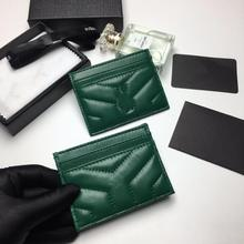 Cardholder Wallet Id-Card Business Fashion Luxury Bank New