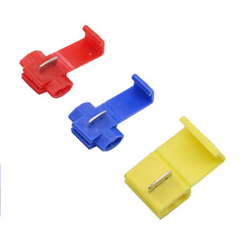 10PCS Red Blue Yellow Scotch Lock Quick Splice 22-18 18-14 12-10 AWG Wire Connector 801P3 802P3 805P3