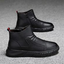 Męskie buty pustynne taktyczne buty wojskowe odkryte buty wojskowe moda motocykl mężczyźni walki kostki wojskowe buty wojskowe męskie tanie tanio SDF JQMNN Chelsea Buty CN (pochodzenie) ANKLE Stałe Płótno Plac toe RUBBER Wiosna jesień Niska (1 cm-3 cm) XX412 Lace-up
