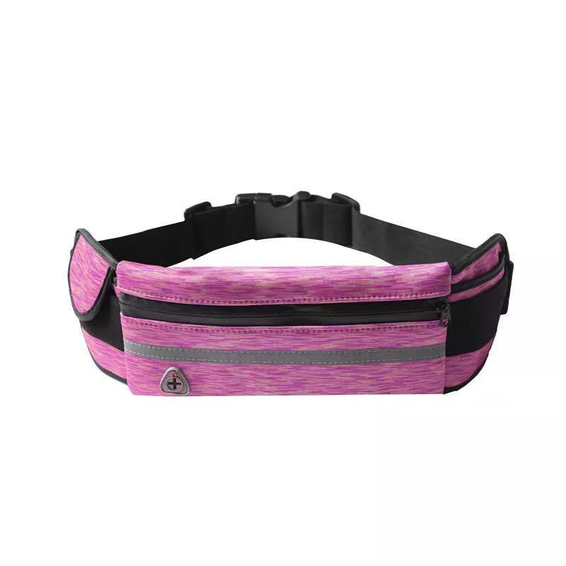Hot Selling Neoprene Outdoor Sport Waist Bag Marathon Running Waterproof Multi-functional Body Hugging Mobile Phone Waist Bag Cr