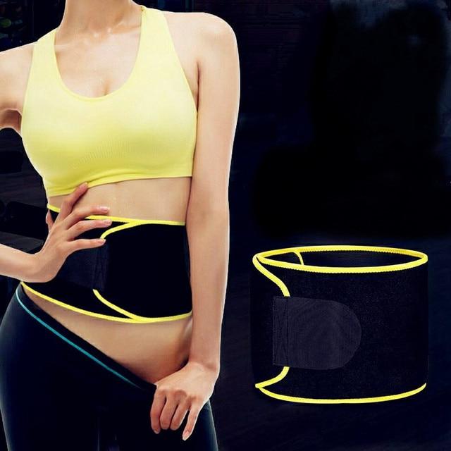 Waist Back Support Waist Trainer Belt Sweat Utility Belt for Sport Gym Fitness Weightlifting Tummy Slim Belts
