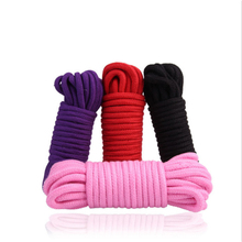 10M Thicken Sex Cotton Bondage Restraint Rope Slave Roleplay Toys For Couples Adult Games Products BDSM Sex Products Erotic