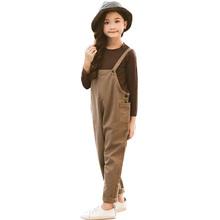 Ubrania dla dziewczynek solidna koszulka i kombinezon odzież dla dziewczynek zestaw luźny kombinezon ubrania dla dziewczynek jesienne dziecięce garnitury casualowe dla dziewczynek tanie tanio Na co dzień O-neck Zestawy Swetry 01083785 COTTON Poliester Dziewczyny Pełna REGULAR Pasuje prawda na wymiar weź swój normalny rozmiar
