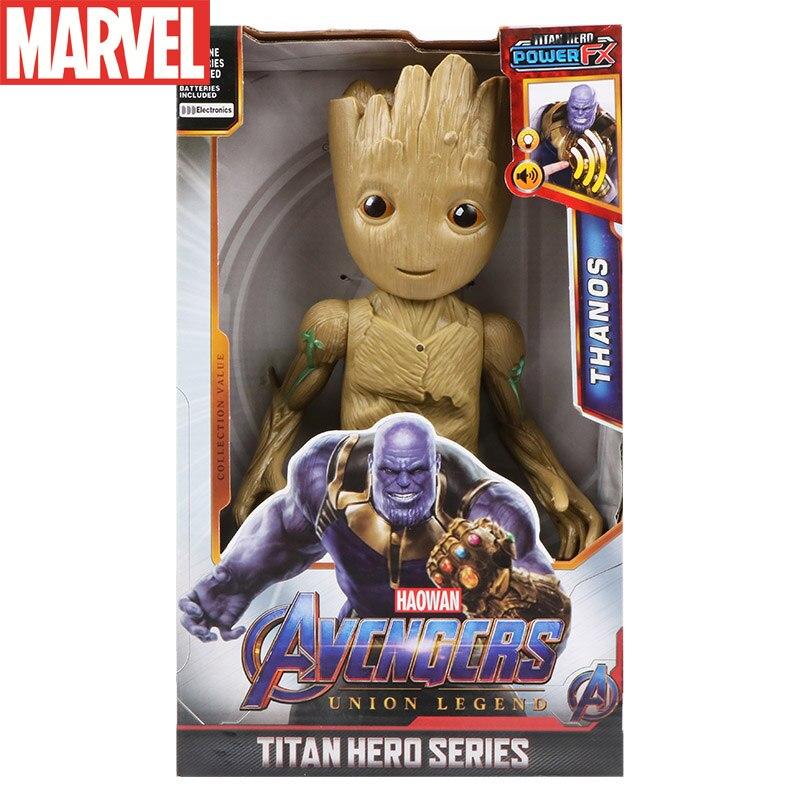 Экшн-фигурка грута человека-дерева, Коллекционная модель героя, куклы стражи Галактики, настольное украшение, подарки, игрушки для детей