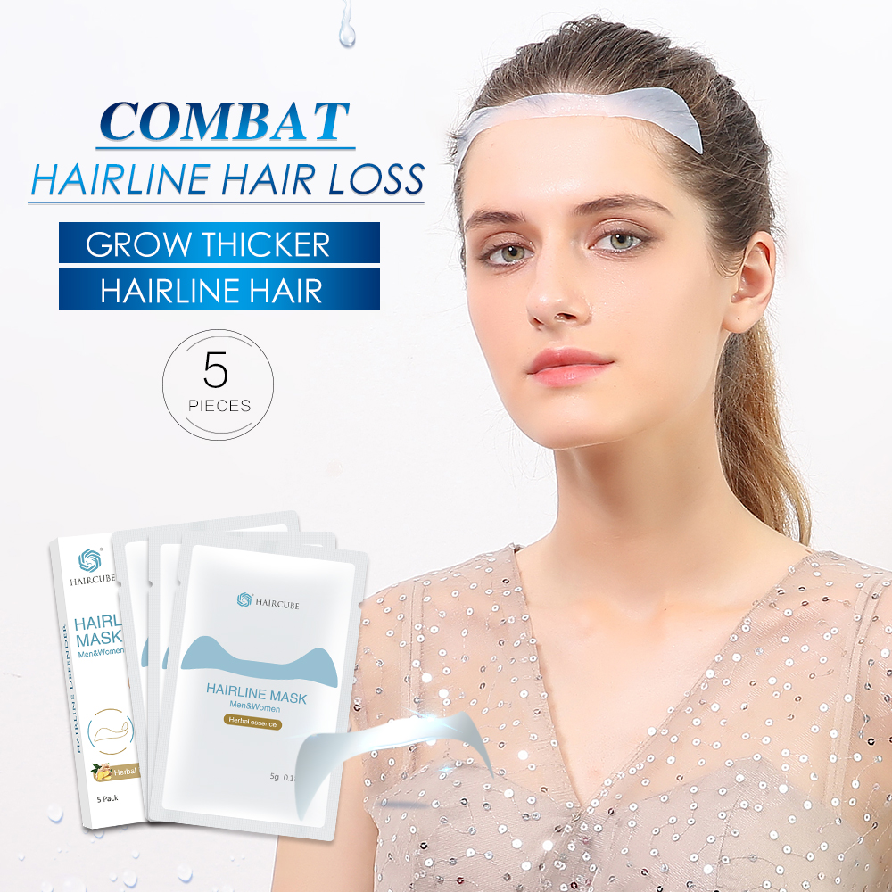 Fast Hairline Growth Mask Hair Regrowth Anti Hair Loss Product Treatment Receding Hair Line Repair Building Beauty Hair Care