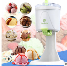 купить 220V 20W Home Desktop Automatic Hard Cone Ice Cream Machine 1L Large Capacity DIY Fruit Ice Cream Machine 1pc по цене 4213.34 рублей
