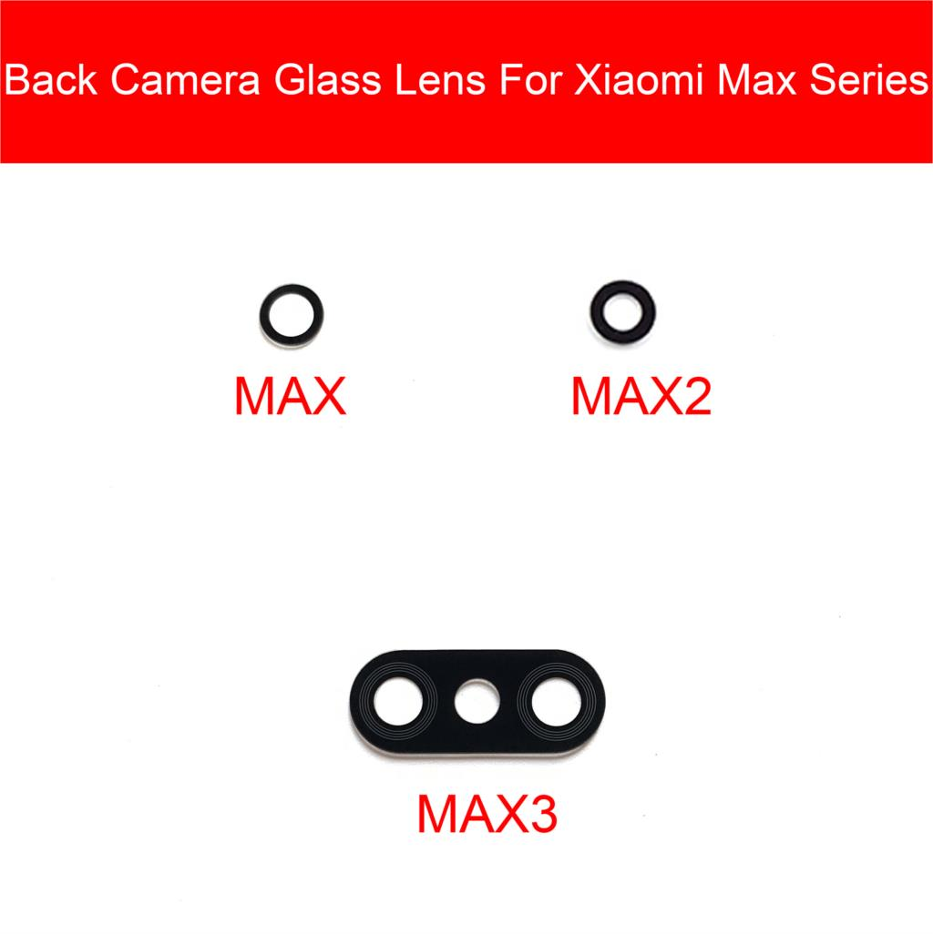 Back Rear Camera Glass Lens Cover For Xiaomi Mi Max 2 3 Main Camera Lens Cover With Adhesive Sticker Replacement Repair Parts