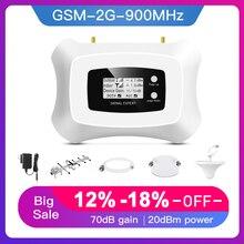 Sıcak satış! Gerçek akıllı 2G sinyal amplifikatörü GSM mobil sinyal güçlendirici kiti GSM tekrarlayıcı 900mhz cep telefonu amplifikatör gsm tekrarlayıcı kiti
