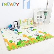 IMBABY детский игровой ковер для детской комнаты коврик детский игровой коврик с ограждением двойная поверхность ковер для детей Детский игровой коврик для палатки детский игровой коврик