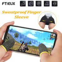 2 pezzi manicotti per le dita per giochi PUBG guanto per pollice Touch Screen antiscivolo resistente al sudore per accessori da gioco mobili manicotto per le dita
