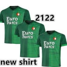 Taille S-3XL 21-22 neuf à BOZENIK KOKCU chemise NARSINGH V.PERSIE FER BERGHUIS JORGENSEN 2022 FeyenoordES petit haut Qualité Chemise