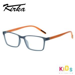 Image 3 - Kirka TR90 מסגרת משקפיים ילדים גמיש ילדים משקפיים אופטי משקפיים מסגרות כיכר משקפיים לילדים משקפיים עבור 6 10